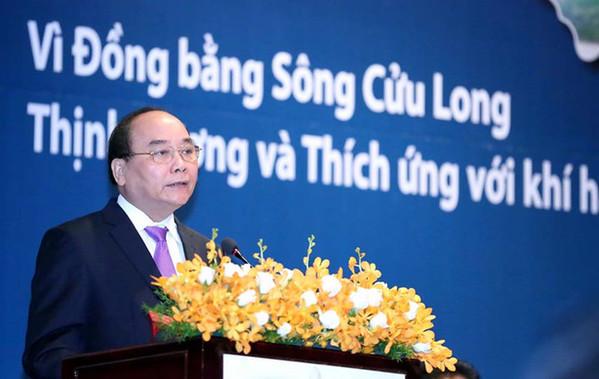 Khai mạc Hội nghị của Thủ tướng về phát triển bền vững ĐBSCL