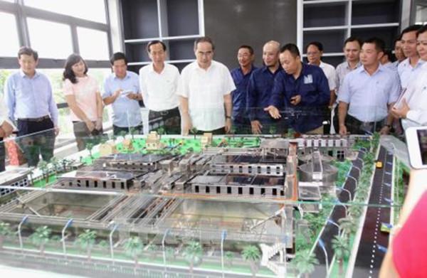 Thành Phố Hồ Chí Minh sẽ có thêm nhà máy xử lý nước thải