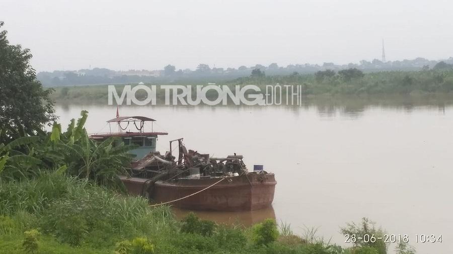Phú Thọ: Xã Lương Lỗ ngang nhiên ký hợp đồng nạo vét cát trái phép
