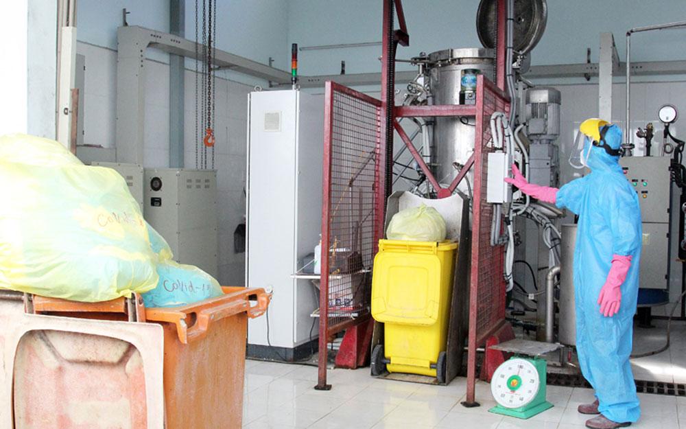 Xử lý triệt để rác thải y tế trong dịch Covid-19 - Tạp chí điện tử Bảo vệ Rừng và Môi trường