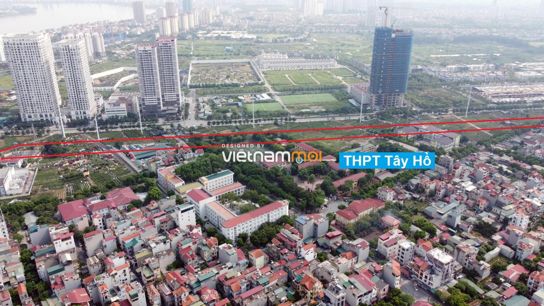 Những khu đất sắp thu hồi để mở đường ở quận Tây Hồ, Hà Nội (phần 3) - Ảnh 9.