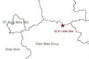 Động đất lại xảy ra tại Điện Biên