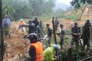 Vụ lở đất ở Nam Trà My: Tìm thấy thi thể thứ 5