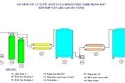 Công nghệ màng lọc kết hợp vật liệu lọc để cấp nước sinh hoạt