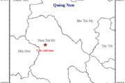 Quảng Nam xảy ra 4 trận động đất liên tiếp chỉ trong 1 ngày