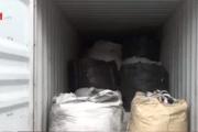 Phát hiện 25 tấn rác thải y tế đội lốt phế liệu nhựa ở cảng Cát Lái