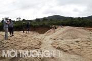 Gia Lai: Phạt 40 triệu đồng vì hút cát trái phép