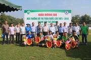 Khai mạc Giải Bóng đá MTĐT toàn quốc Lần thứ I-2018 khu vực phía Nam