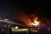 Đà Nẵng: Cháy lớn tại khu công nghiệp Hòa Cầm