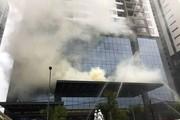 Q. Bắc Từ Liêm lên tiếng về sự cố cháy tại khu ngoại giao đoàn