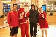 Các tuyển thủ Việt Nam làm gì trong đêm Giáng sinh?