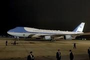 Trực tiếp lễ đón Tổng thống Mỹ Donald Trump tại sân bay Nội Bài