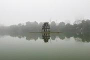Sương mù bao trùm Hà Nội những ngày qua là do ô nhiễm không khí