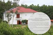Vĩnh Phúc: Kiến nghị xử lý lãnh đạo do buông lỏng quản lý đất đai