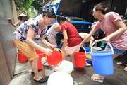 Hà Nội nguy cơ thiếu nước sinh hoạt mùa hè 2019