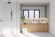 Mẫu phòng tắm đẹp đơn giản và hiện đại