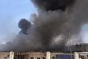 Vĩnh Phúc: Cháy lớn tại KCN Bá Thiện, thiêu rụi 2000m² nhà xưởng