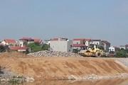 Hàng chục mét kè đê thuộc dự án 22 tỉ đổ sập trước ngày bàn giao