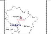Cao Bằng xảy ra 2 trận động đất chỉ trong 1 ngày