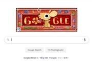 Doodle chúc mừng năm mới của Google chúc Tết Canh Tý riêng Việt Nam