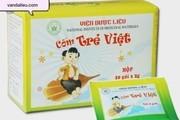 Bộ Y tế thu hồi thuốc Cốm Trẻ Việt do Viện Dược liệu sản xuất