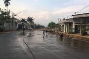 Huyện Cư Jút: Thi công đường dang dở, gây ô nhiễm môi trường