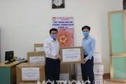 Thép Hòa Phát Hải Dương tặng TX Kinh Môn TBYT chống dịch Covid-19