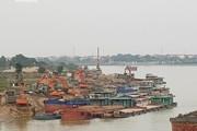 Bãi tập kết vật liệu trái phép lộng hành ở Bắc Ninh