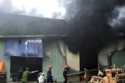 Đà Nẵng: Cháy lớn tại kho chứa quạt hơi nước, thiệt hại hàng chục tỷ