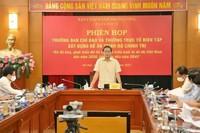 Trình Bộ Chính trị ban hành nghị quyết về phát triển đô thị