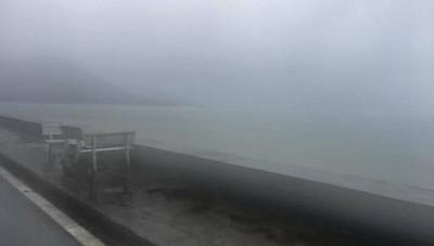 Côn Đảo mưa trắng trời trong bão số 16