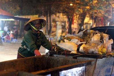 Hà Nội: Thu gom gần 16.000 tấn rác thải trong 4 ngày Tết