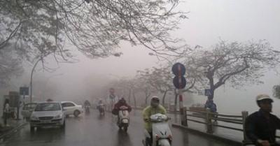 Thời tiết ngày 17/3: Bắc Bộ có sương mù và mưa rải rác