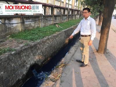 Mê Linh (Hà Nội): Người dân tố Cty VIT- GARMENT xả nước thải trực tiếp ra môi trường