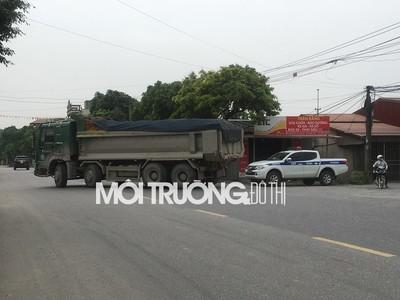 Hà Nam: Tái diễn tình trạng xe có dấu hiệu quá khổ, quá tải