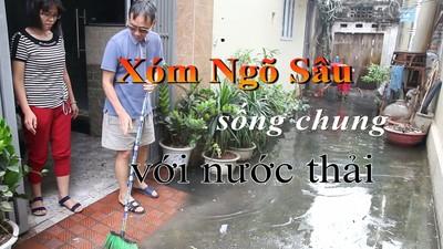 Tân Hội (Đan Phượng): Xóm Ngõ Sâu 4 tháng 'ám ảnh' với nước thải