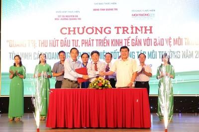 Quảng Trị: Tôn vinh doanh nghiệp thực hiện tốt công tác môi trường