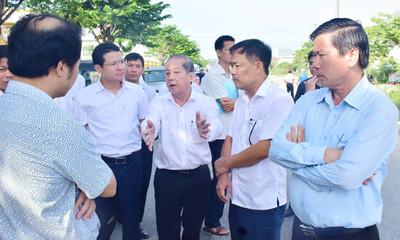 Chủ tịch TT. Huế kiểm tra dự án cầu Lợi Nông 32 tỷ không có lối lên