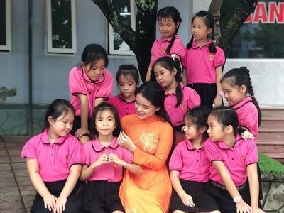 Quảng Trị: Trường PTLCTrưng Vương đón chào năm học mới