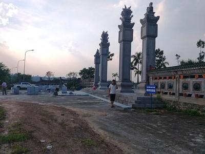Vĩnh Phúc: Văn Miếu hơn 300 tỉ xây 7 năm chưa xong đã xuống cấp