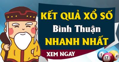 KQXSBTH 19/12 Kết quả xổ số Bình Thuận hôm nay Thứ 5 ngày 19/12/2019