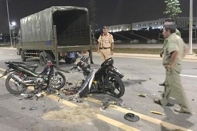 TP.HCM: Đua xe tông nhau, 2 thanh niên chết thảm