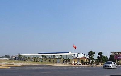 Công ty TNHH May Minh Dương lấn chiếm, xây nhà xưởng trên đất NN