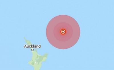 Động đất có độ lớn 7,4 làm rung chuyển khu vực Đông Bắc New Zealand