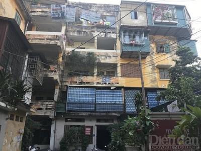 Đề xuất thí điểm cơ chế đặc thù cải tạo chung cư cũ