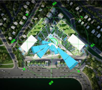 Tập đoàn Dewan: thiết kế Tháp biểu tượng Ecopark