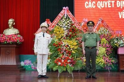 Điều động, bổ nhiệm lãnh đạo Công an hai tỉnh Lâm Đồng, Đắk Lắk