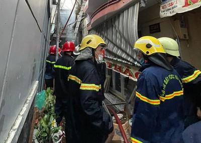 Cháy lớn tại TP.Hồ Chí Minh: 8 người tử vong thương tâm