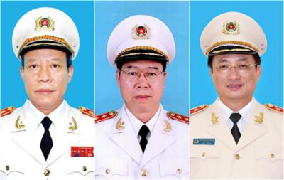 Các thứ trưởng Bộ Công an nghỉ hưu từ 1-6-2021
